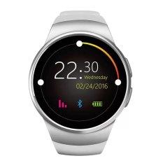KW18 Olah Raga Smart Jam Denyut Jantung IPS Layar Penuh Bluetooth Jam Pintar Kebugaran Pelacak untuk