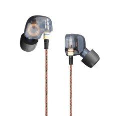 Harga Kz Ate Copper Conductor Ear Hook Hifi Earphone Sport Headphones With Foam Tips Intl Yg Bagus