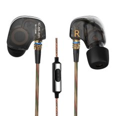 Jual Kz Ate Tembaga Driver Ear Hook 3 5Mm Di Telinga Earphone Hifi Logam Stereo Sport Headphone Super Bass Kebisingan Mengisolasi With Mikrofon Hitam Antik