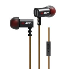 Beli Kz Ed9 Hifi Stereo Metal In Ear Wired Earphone Black With Mic Intl Kredit Hong Kong Sar Tiongkok