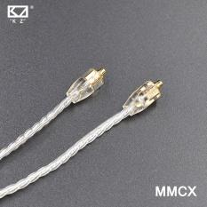 Kz Mmcx Silver Plating Kabel Kabel Yang Ditingkatkan Penggantian Kabel Use Untuk Shure Se215 Se425 Se535 Se846 Intl Murah