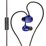 Beli Kz Zs2 Hi Fi Stereo Logam In Ear Wired Earphone Biru Dengan Mic Intl Online Murah
