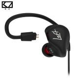 Review Kz Zs3 Ergonomis Kabel Detachable Earphone Di Telinga Audio Monitor Isolasi Hifi Musik Olahraga Earbud Tanpa Mikrofon Intl Kz