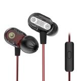 Jual Beli Kz Zse Dual Unit Drive In Ear Hifi Earphone Dengan Mikrofon Hitam Internasional Hong Kong Sar Tiongkok