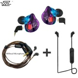 Beli Kz Zst Earphone Hibrida Bluetooth Kawat Dynamic Drive Hi Fi Bass Earphone For Sport Musik Ponsel Pintar Kz Murah