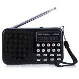 Jual L 065 Portable Am Fm Radio Music Speaker With Usb Aux Audio Playing Tf Sd Card Slot Intl Oem Asli
