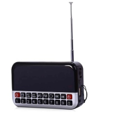 Jual L 80 Lcd Screen Portable Multi Fungsional Led Alarm Clock Radio Kartu Mp3 Speaker Intl Murah Tiongkok