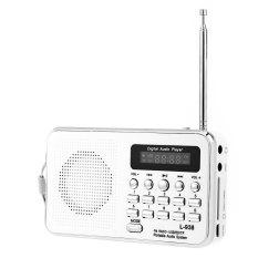 Harga L 938 Portable Fm Radio Mp3 Player Mendukung Tf Kartu Bermain Aux Input Intl Online Indonesia