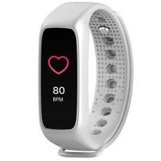 L30T Gelang Bluetooth Monitor Detak Jantung Smart Jam Tangan Penuh Warna TFT-LCD Smart Band untuk IOS dan Android-Intl