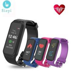 Harga L38I Bluetooth Smart Band Gelang Women Dinamis Denyut Jantung Penuh Warna Layar Pedometer Kebugaran Tracker Untuk Semua Ponsel Tahan Air Intl Dan Spesifikasinya