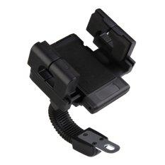 LaBanja Phone Holder Motor Matic/Bebek Untuk HP/ GPS - Hitam