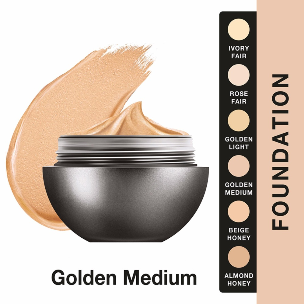 Beli Lakme Absolute Reinvent Mattreal Skin Natural Mousse Foundation Golden Medium Online Terpercaya