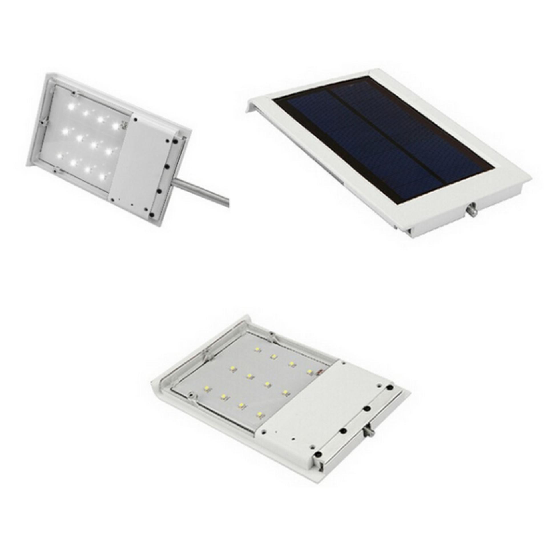 Lampu Tenaga Surya Penerangan Jalan Umum (PJU) 12 LED 120LM - Solar Panel