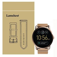 Lamshaw Magnetic Milanese Loop Stainless Steel Magnet Penutup Kunci Band untuk Fossil Q Wander Smartwatch Strap (Milanese_Rose Emas) -Intl