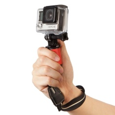 Tanah Mini Handheld Stabilisator Video Steadicam Grip untuk Telepon Seluler SJCAM Kamera-Intl photography