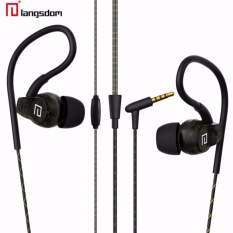 Langsdom Premium Sp80A Anti-Fall Sports Earphones Waterproof Sweatproof