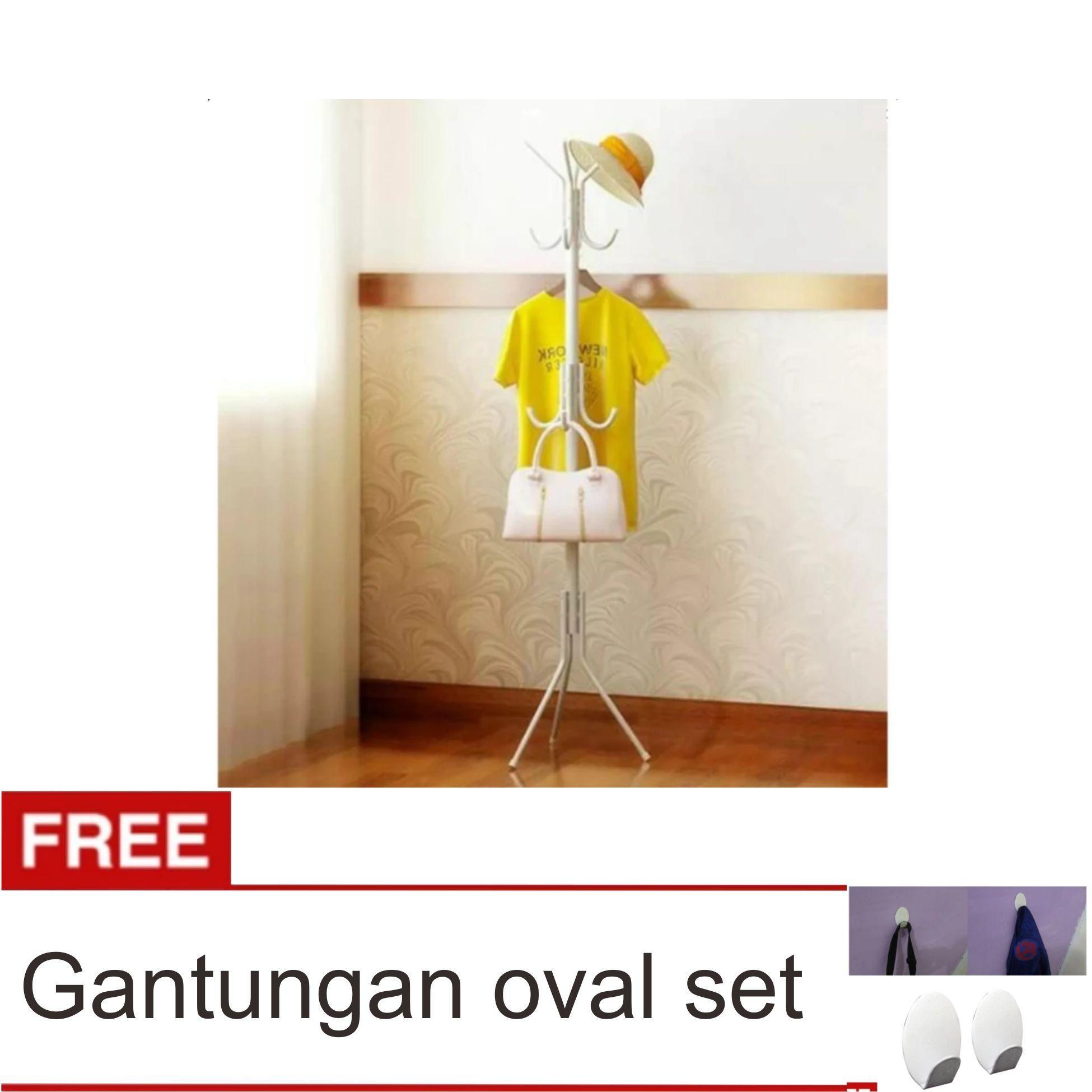... Tas Topi Payung DLL - Multifunction Hanger. Source · Lanjarjaya Gantungan Baju Standing Hanger Multifunction Stand Hanger Putih Gantungan Oval Set .