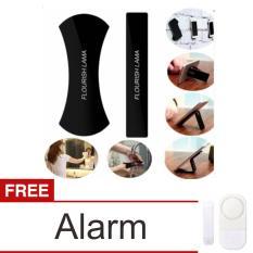 Lanjarjaya Original Nano Holder Flourish Lama for Smartphone 2pcs - Hitam + Alarm