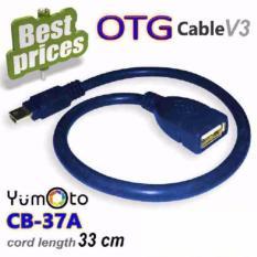 lanjarjaya OTG Cable On The Go Mini USB Male to USB Female Converter OTG Adapter For Smartphone / Cable Connection Kit Mobile Phone / Kabel OTG - warna random