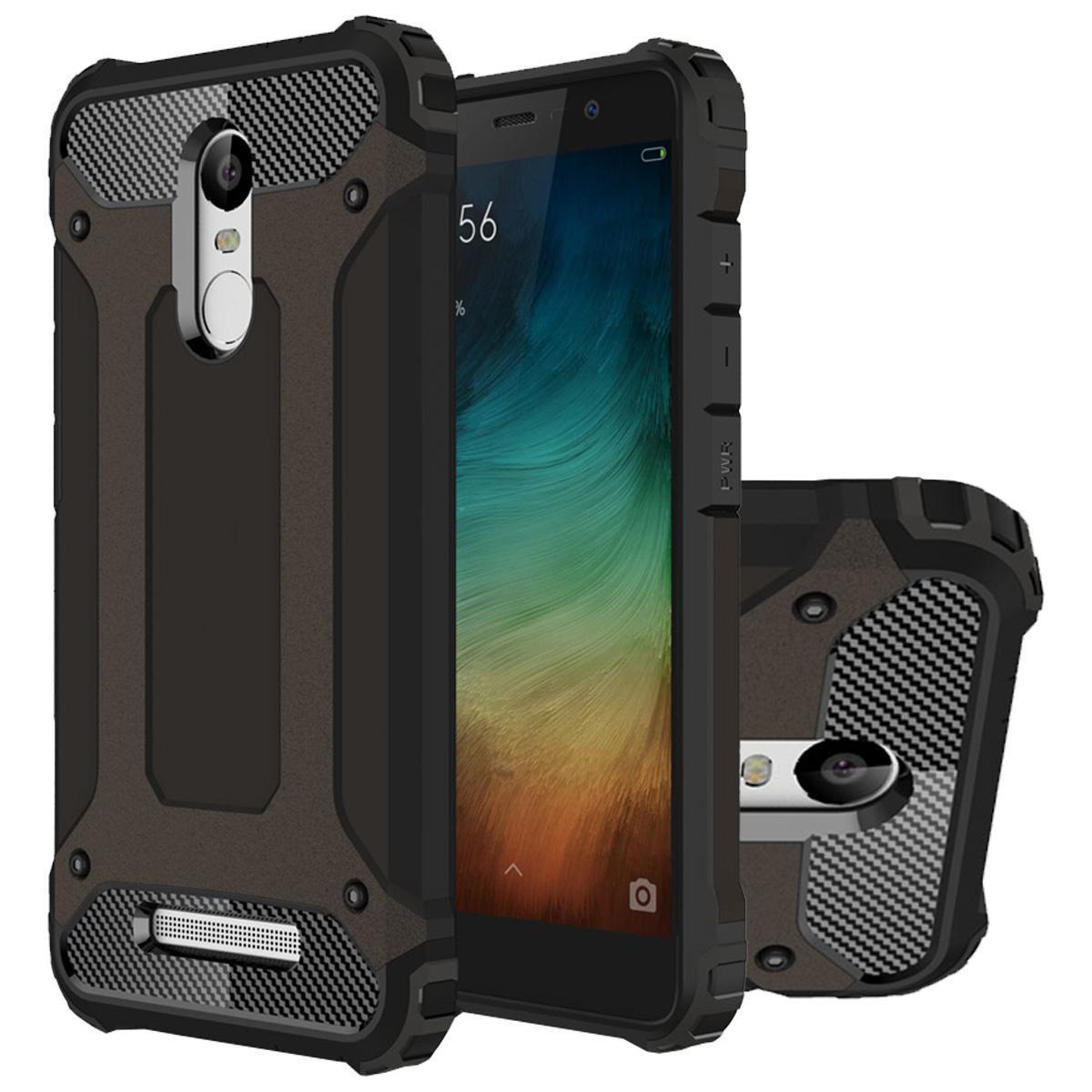 ... Lapis ganda kasus untuk Xiaomi Redmi Note 3 pc tugas TPU campuran baja syok menyerap aling