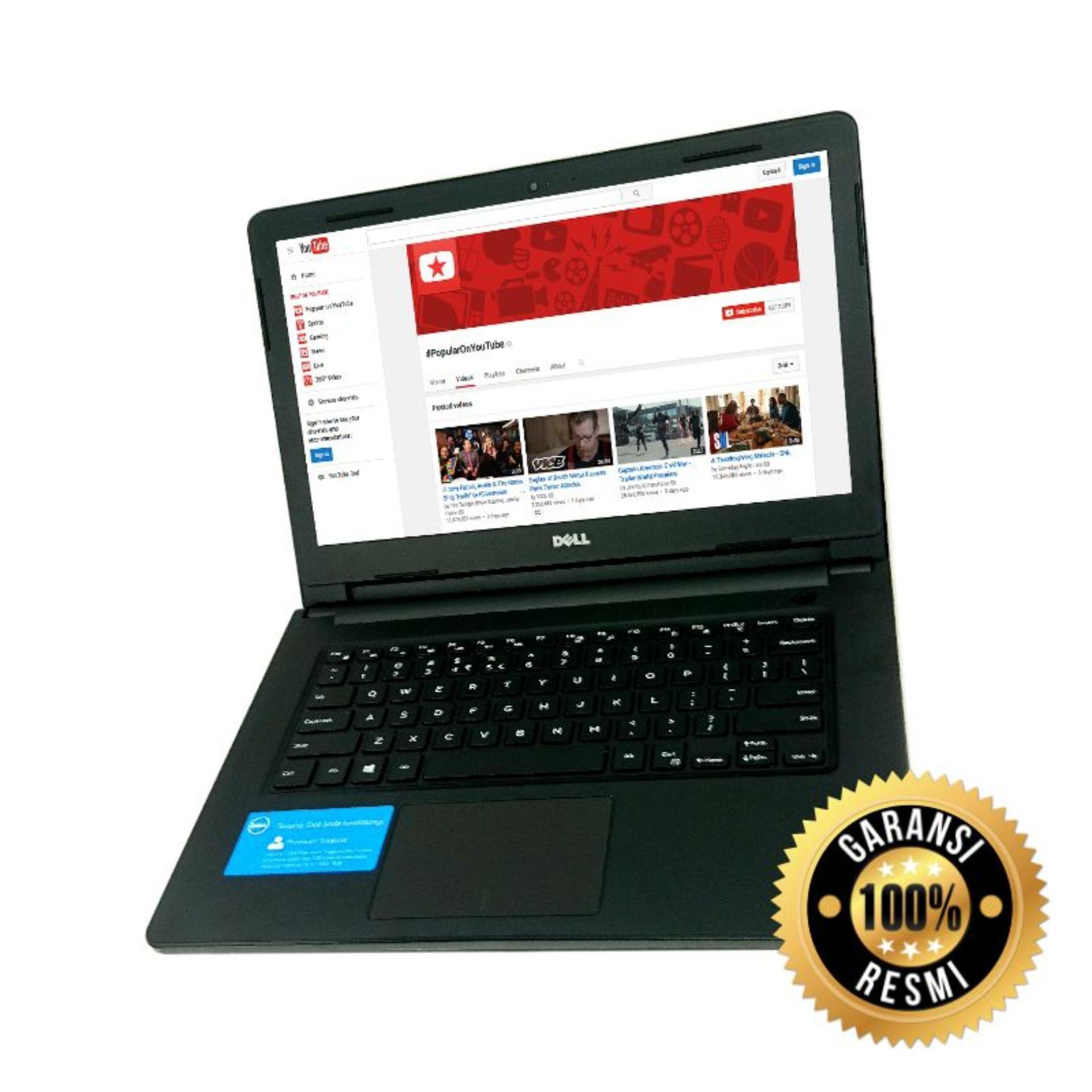 Garansi Resmi Dell Laptop Dell Inspiron 3462 Intel 3350 4GB 500GB WIN 10 GARANSI