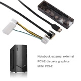 Laptop External Independent Video Card Dock For Mini Pci E Without Power Supply Intl Promo Beli 1 Gratis 1