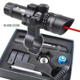 Jual Laser Scope New Red Dot Merah Bidik Airsoftgun Hunting Original Hitam Lengkap