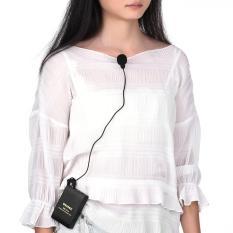 Lazpedia Mikrofon Jepit 3.5mm Audio Jack Untuk Smartphone Laptop Tablet PC / Microphone with Clip / Mikrofon HP Wawancara Talk Show / Mikrofon Klip / Mikrofon Sembunyi / Mikrofon Smule / Mikrofon Rahasia