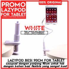 Jual Lazy Pod Jepit Narsis Gagang Baby Tablet 90 Cm Jepsis Lazypod Monopod Tongsis Holder Besi Smartphone Putih Branded Original