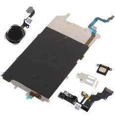 LCD Backplate Rumah Kunci FLEX Kamera Set Aksesori untuk iPhone 6 Plus (Banyak Warna)--Intl