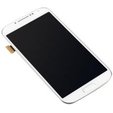 LCD Display Frame untuk Samsung Galaxy SIV S4 I9505 (Putih)--Intl
