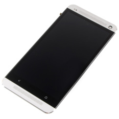Layar LCD Touch Digitizer Assembly + Bingkai Perumahan untuk HTC One M7--Intl