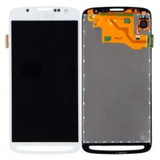 Tampilan layar sentuh dengan LCD digitizer susunan lengkap perbaikan suku cadang untuk Samsung Galaxy S4 Active i9295 i537 putih