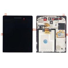 LCD Layar Sentuh dengan Bingkai untuk BlackBerry Porsche Design P'9983-Intl