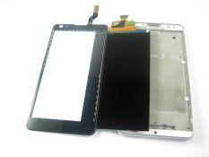 LCD Display+Touch Screen Digitizer+Frame For LG Optimus L9 II 2 D605~WHITE - intl