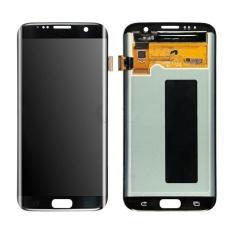Layar LCD + Layar Sentuh untuk Samsung Galaxy S7 Edge G935 G935F Perakitan Hitam-Intl