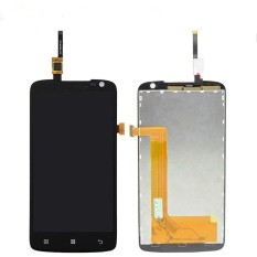LCD untuk Lenovo S820 Ponsel LCD (Hitam, Layar Sentuh) (Bebas + 3 M Tape + Membuka Alat Perbaikan + Lem)-Internasional