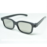 Spek Lcd Kaca Mata 3D Plastic Polarized 3D Glasses Flg Tv Real 3D Cinema