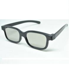 Review Lcd Kaca Mata 3D Plastic Polarized 3D Glasses Flg Tv Real 3D Cinema Dki Jakarta