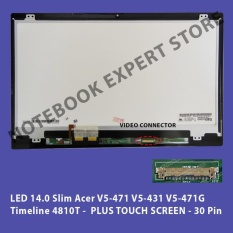 LCD LED 14.0 Slim Acer V5-471 V5-431 V5-471G PLUS TOUCH SCREEN 30 Pin