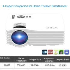 LCD LED Projektor Projector Unic UC36 WIFI Anycast HD 1000 Lumens proyektor Murah