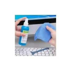 LCD Screen Cleaning Kit - 3 In 1 Pembersih LCD Laptop PC Kamera Hp