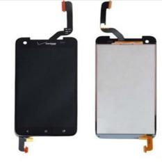 Layar LCD Lengkap Layar LCD Display Bagian Penggantian Layar Sentuh Hitam untuk HTC Droid DNA