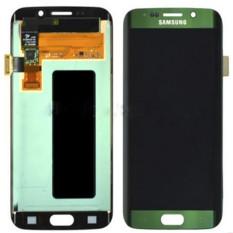 Baru Telepon Seluler LCD Perakitan Touch Digitizer Bagian Pengganti Layar Hijau untuk Samsung Galaxy S6 EDGE G925