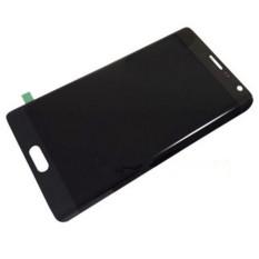 Baru Telepon Seluler LCD Perakitan Touch Digitizer Bagian Pengganti Layar Abu-abu untuk Samsung Galaxy Note Edge