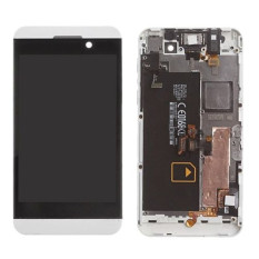 Beli Layar Lcd Dengan Bingkai Lengkap Tampilan Layar Lcd Touch Bagian Pengganti Layar Putih For Blackberry Z10 4G Pake Kartu Kredit