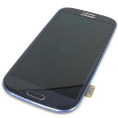 Baru Telepon Seluler LCD Perakitan Touch Digitizer Bagian Pengganti Layar dengan Bingkai Biru untuk Samsung Galaxy I9305