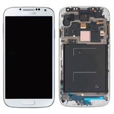 Baru Telepon Seluler LCD Perakitan Touch Digitizer Bagian Pengganti Layar dengan Bingkai Putih untuk Samsung Galaxy I9505-Int'l