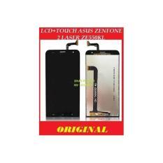 Lcd + TOUCHSCREEN LAYAR SCREEN TOUCH Asus Zenfone 2 Laser Ze550kl Z00LD 5.5 Inch BLACK HITAM ORIGIN