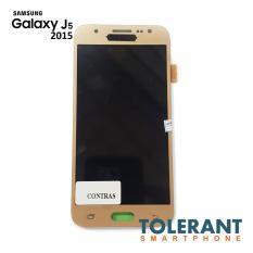 LCD + Touchscreen Layar sentuh Samsung J5 2015 J500g Warna Gold